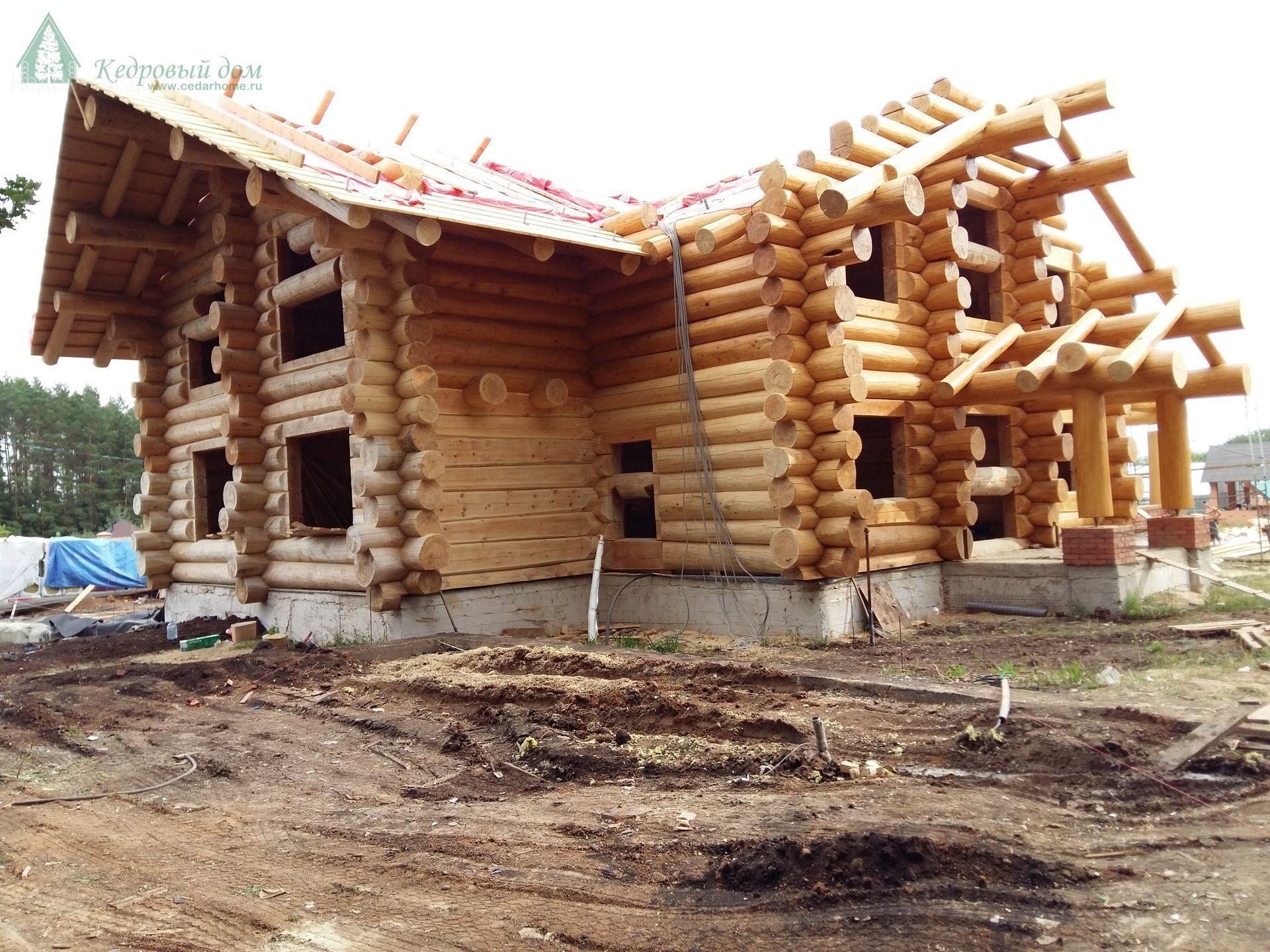 Дома из клееного бруса в рб